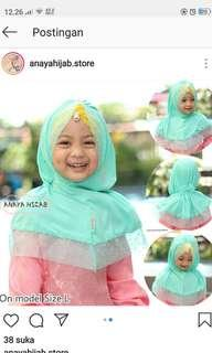Kerudung Bayi Anaya Hijab -  Hijab Gaiza