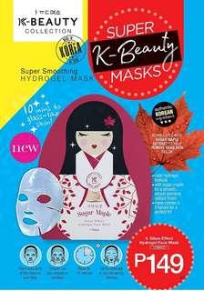 Glass Effect Hydrogel Face Mask