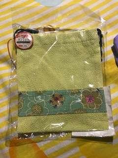 Japanese pattern pouch  日本圖案抽繩袋