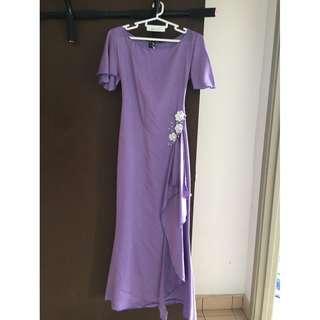 Preloved Purple Dress