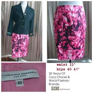 🚚 (SALE) US skirt pink floral print. Clearance