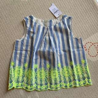 🚚 BN Gap baby eyelet embroidered tank top