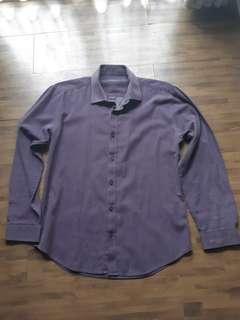 Executive shirt Muscle purple
