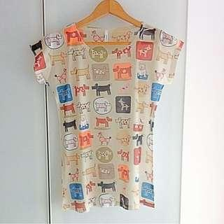 $10 SALE: BN Tumblr Dog Geometric Graphic Tee Top (do you see this marked sold? no. then OBVIOUSLY ITS AVAILABLE)