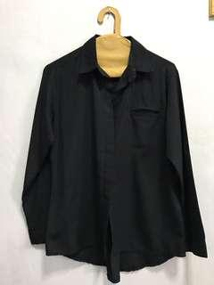 Black Formal Blouse