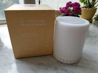 【全新】Touch Lamp/Portable Speaker(枱燈/嘞叭)