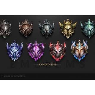 🌟[Elo Boost] League of Legends