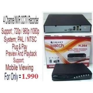 Smartwatch DVR 5in1 1080P