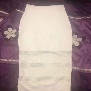 Kookai size 1 white skirt
