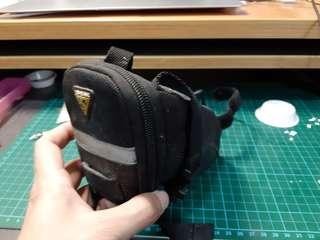 Topeak strap on saddle bag