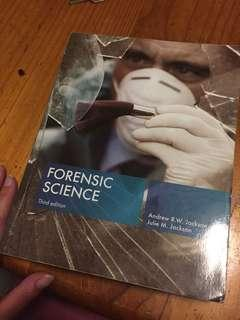 Forensic science textbook