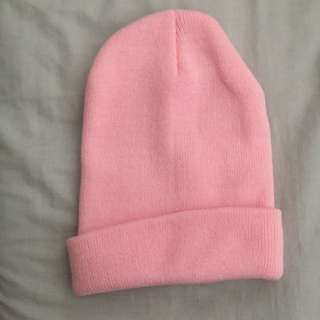 1231387bad6  new  pink beanie