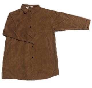 🚚 BN oversized velvet Shirt