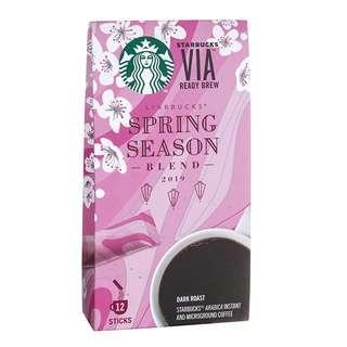 🆕Starbucks® VIA® Ready Brew Spring Season Blend