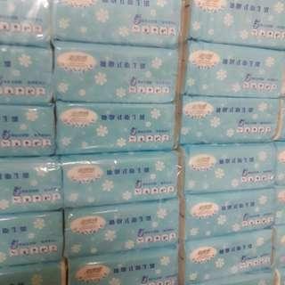 超質感 抽取式衛生紙1箱=6串*8包=48包