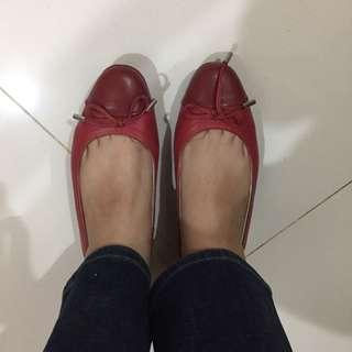 bocorocco red flat shoes