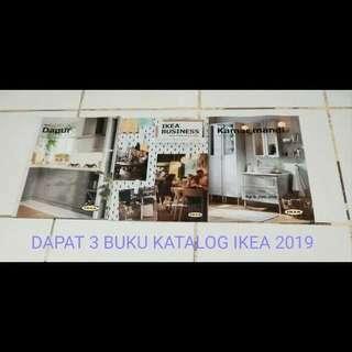 KONDISI BARU!! Bundling dapat 3 buku katalog IKEA 2019