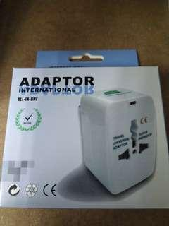 🚚 Internation Worldwide Travel Adapter 150 Countries