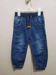 Soft cotton jogger jeans for 2-3 yrs old boys