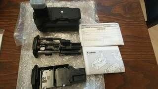 原裝 Canon BG-E3 手柄 + 電池盒 連 BGM-E3A 及 BGM-E3L 全套 #MTRtko
