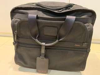 Tumi wheeled briefcase
