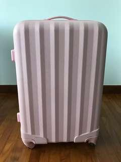 Pink Luggage (for check in)