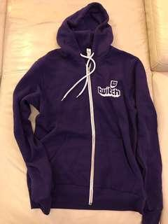 🚚 RARE official Purple Twitch Hoodie