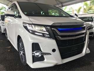 TOYOTA ALPHARD 2.5S C-PACKAGE  2014
