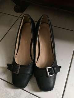Black Office Heels