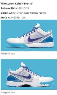 hot sale online 7663c 73edf Nike Kobe IV 4 Protro 2019