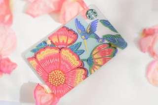 🆕Starbucks® 🇲🇾 Spring Hummingbird Card