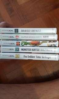 🚚 Selling 3DS Games