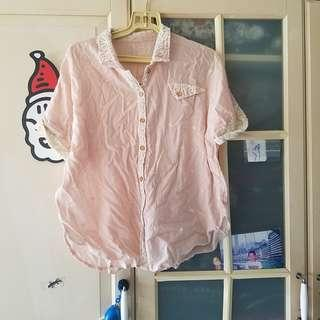 Baby pink top (new)