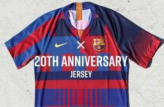 18-19 FCB FC Barcelona 20th Vapor Match DSR Jersey