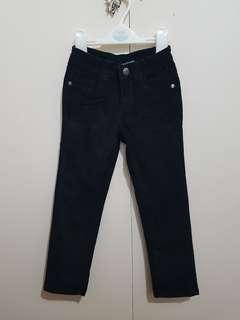 Black corduroy pants for 4 yrs olds