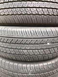 4 X Dunlop ST30 225/60/18 Tyres (60% Threads)
