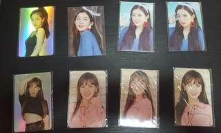 red velvet redmare photocards