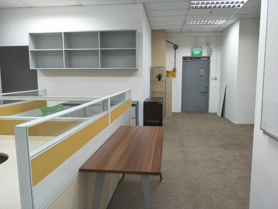 1500sqft Fully fitte office included utilities bill in ubi