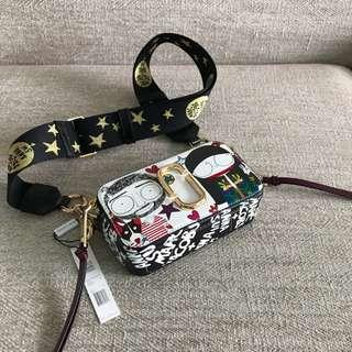 [Limited Edition] Anna Sui x Marc Jacobs Snapshot Sling Bag / Crossbody