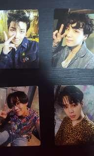 bts lightstick photocard