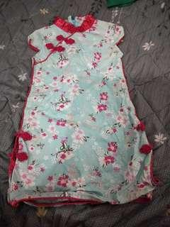 🚚 CNY Dress 3 years old