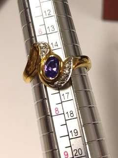 18kGP ring