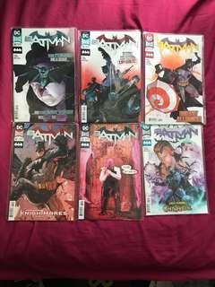 Dc comics Rebirth Batman
