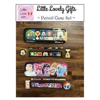Mickey and My Little Pony Pencil case set