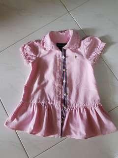 🚚 Pink Dress - 9 months
