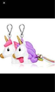 Unicorn BFF Bath & Body works pocketbac sanitizer case