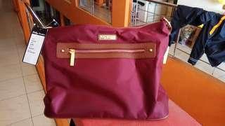 Philips Jourdan maroon marun maron merah tua tas selempang new