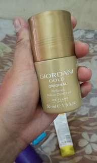Deodorant deodoran giordani gold roll on Oriflame sweden