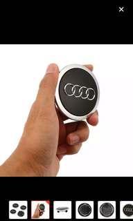 Brand New Black Audi center wheel cover 69mm for sale
