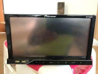 Pioneer double din head unit & two speakers